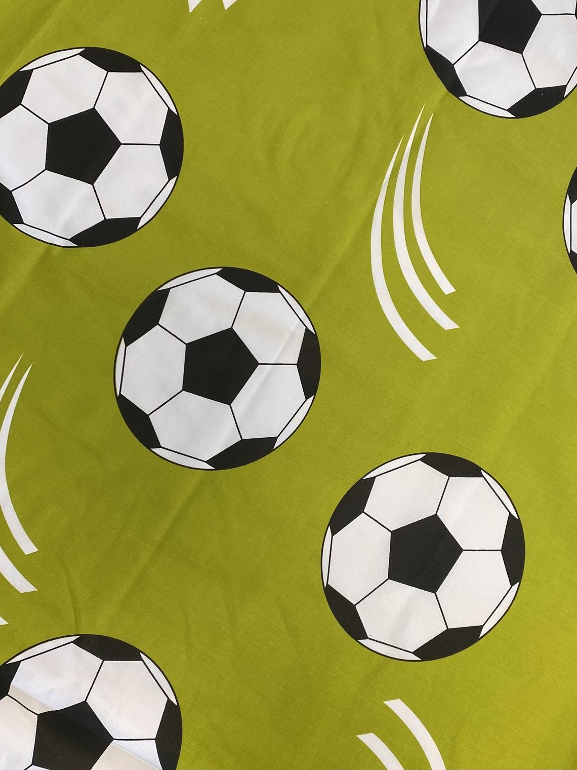 Turnbeutel aus Polyester mit Name in Royal Fußball