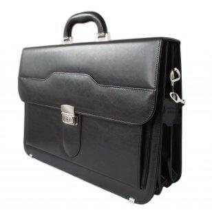 Leder Aktentasche, Herren Aktentasche schwarz, Laptoptasche  kaufen