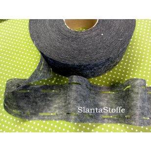 Stanzband, Bügeleinlage schwarz, 3,5cm kaufen