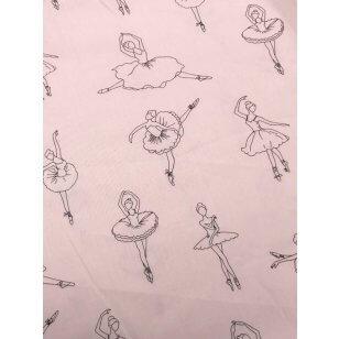 Baumwollstoff Ballerina, 2 Farben kaufen