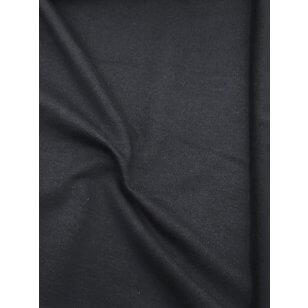Sweat Terry French Stoff uni schwarz kaufen