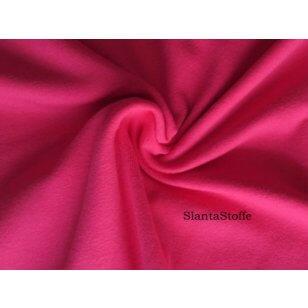 Jersey Stoff uni pink kaufen