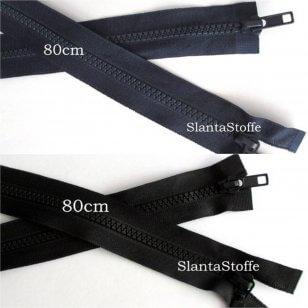 2-Wege Profil Reißverschluss 80cm kaufen
