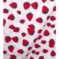 "Single Jersey, Kinderstoff ""Erdbeere"""