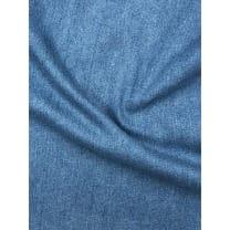 Jeans Stoff Stretch uni Breite 145cm blau