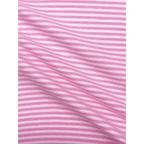 Bündchenstoff Schlauch Meterware Streifen rosa