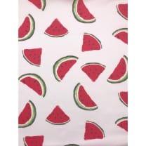 Baumwollstoff Wassermelone