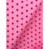 Feincord Sterne rosa