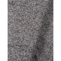 Tweed Stoff Doubleface Salz und Pfeffer grau meliert made in Italy