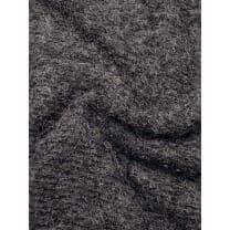 Boucle Stoff schwarz meliert Breite 145 cm