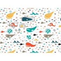 Baumwollstoff Kinderstoff Meereswelt Breite 160cm ab 50 cm