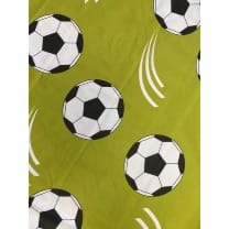Baumwollstoff Kinderstoff Dekostoff Fußball Breite 160cm ab 50cm