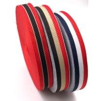 Ripsband Retro Dekoband Webband Hutband 23mm 3 Farben