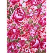 Royal Micro Satin Stoff Polyester rosa