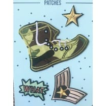 Aufnäher Applikation Army Patches Set 4 Teile