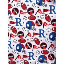 Jersey Stoff Kinderstoff Rugby Ball ab 50 cm