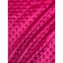 Minky Fleece Noppen Microfleece Breite 150 cm pink