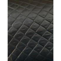 Steppstoff Steppfutter Polsterwatte durchgesteppt schwarz ab 1m