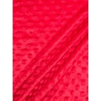 Minky Fleece Noppen Microfleece Breite 150 cm rot