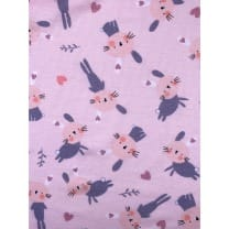 Single Jersey Kinderstoff Baumwollstoff rosa Breite 155cm ab 50 cm