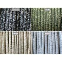 Kordel Polyester mit Lurex 7 mm rund Schnur Turnbeutel Dekokordel 4 Farben