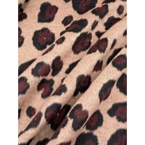 Mantelstoff Stoff Leopard Tiermuster sand ab 50 cm