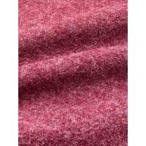 Walkloden Schurwolle gekochte Wolle meliert bordeaux Breite 140 cm ab 50 cm