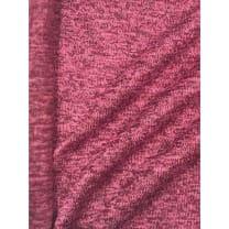 Strickstoff Strickfleece Stoff Fleece meliert pink