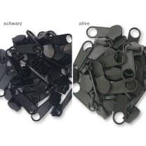 Zipper Schieber für 8 mm Reißverschluss endlos