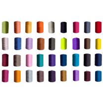 Nähgarn 40/2 Polyester 1000 yard freie Farbwahl 36 Farben