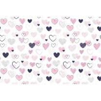 Baumwollstoff Kinderstoff Herzchen Breite 160cm ab 50 cm