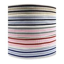 Gurtband 40mm Baumwolle Taschengurt Streifen 5 Farben