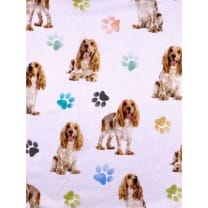 Single Jersey Kinderstoff Digitaldrück Hund 3-D Breite 155cm ab 50 cm
