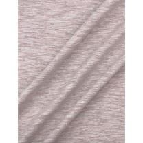 Jersey Baumwolle-Leinen uni meliert sand