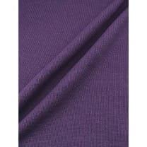 Bündchen Stoff Meterware gerippt uni Schlauch violett