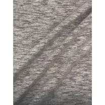 Jersey Baumwolle-Leinen uni meliert ab 50cm