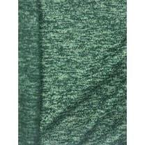 Strickstoff Strickfleece Stoff Fleece meliert altgrün