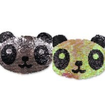 Wendepailletten XL-Patch Aufnäher Applikation Panda Bär