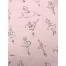 Baumwollstoff Ballerina, 2 Farben