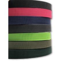 Gurtband 25mm, 8 Farben