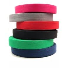 Gurtband 30mm Baumwolle Taschengurt 6 Farben