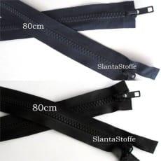 2-Wege Profil Reißverschluss 80cm