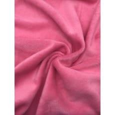 Alpenfleece uni, rosa