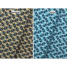 Baumwollstoff Dekostoff Stoff Blumen 2 Farben