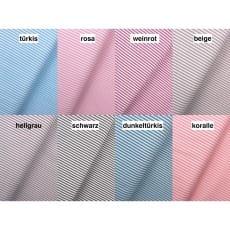 Baumwollstoff Dekostoff Streifen 3mm 8 Farben