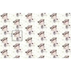Baumwollstoff Kinderstoff Käfermädchen Breite 160cm ab 50 cm