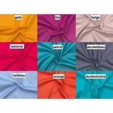 Baumwollstoff Uni 9 Farben