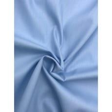Baumwollstoff uni, himmellblau