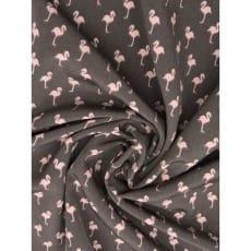 Blusenstoff Radiance Flamingo grau