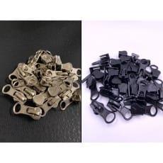 Zipper Schieber für 5 mm Reißverschluss Profil endlos 10 Stück
